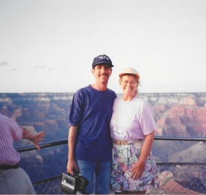We made it to the Grand Canyon, one of David's lifelong dreams.